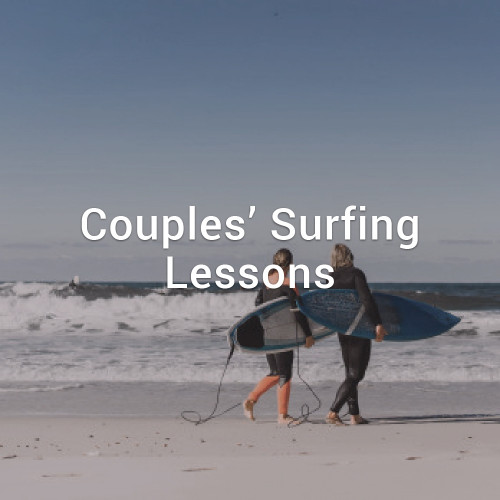 Couples Surfing Lessons